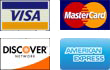 AGS accepts all major credit cards