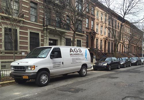 AGS Deliveries on the job