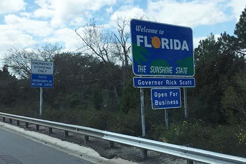 AGS Moving entering Florida