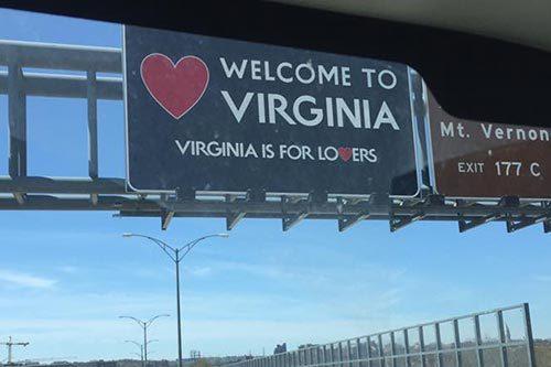 AGS Moving entering Virginia