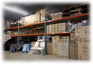 AGS secure and heated warehouse